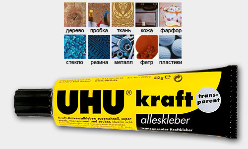 UHU Kraft Transparent