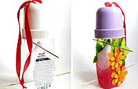 Поделка-кормушка из пластиковой бутылки своими руками