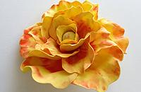 Объёмные цветы из фоамирана